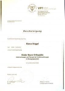 Kinder Neuro-Orthopädie Physio Dziggel